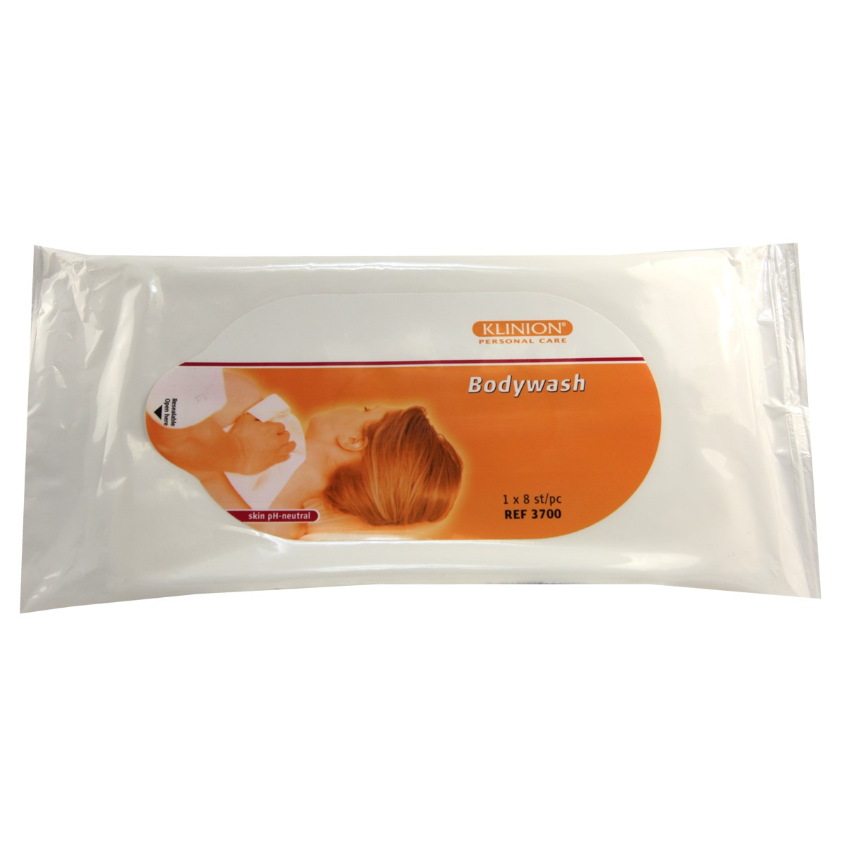 Klinion Body Wash Wipes