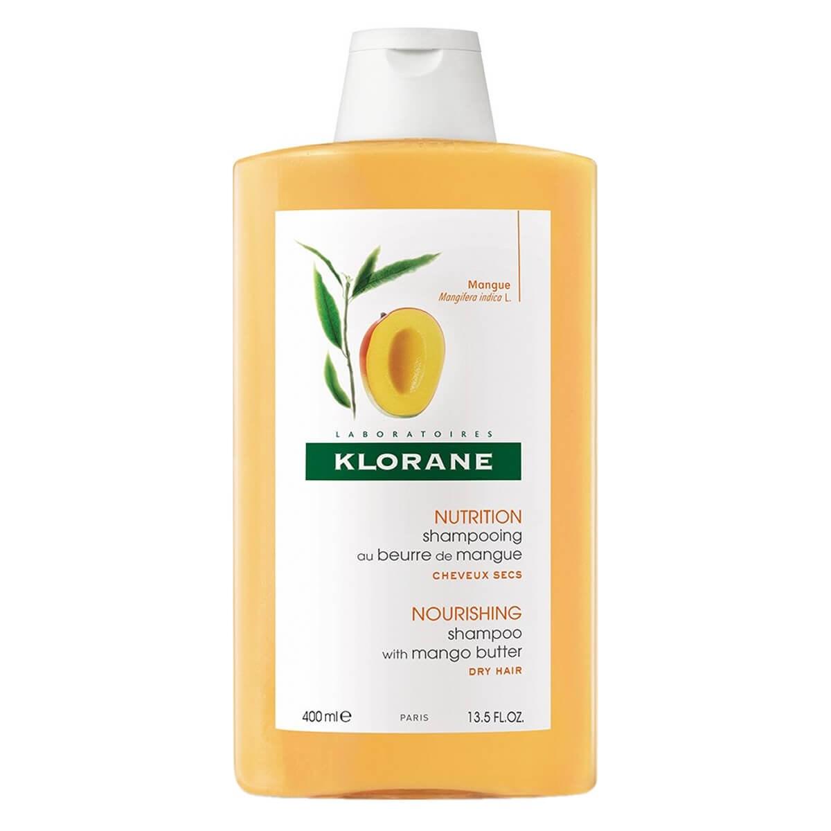 Klorane  Nourishing Shampoo With Mango Butter