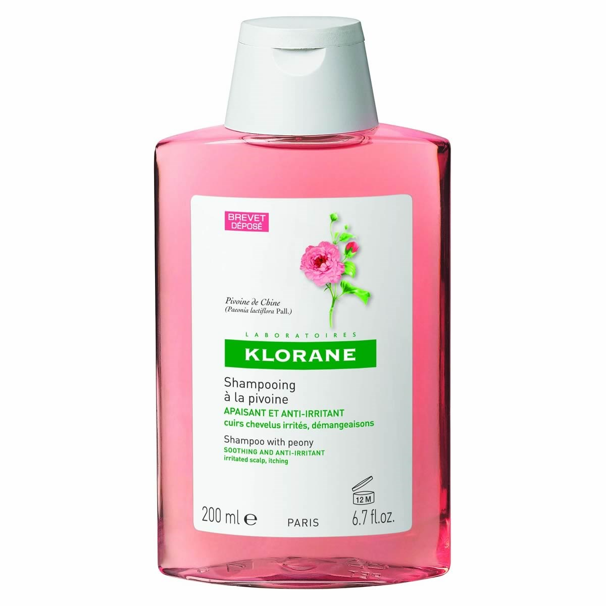 Klorane Soothing Shampoo With Peony