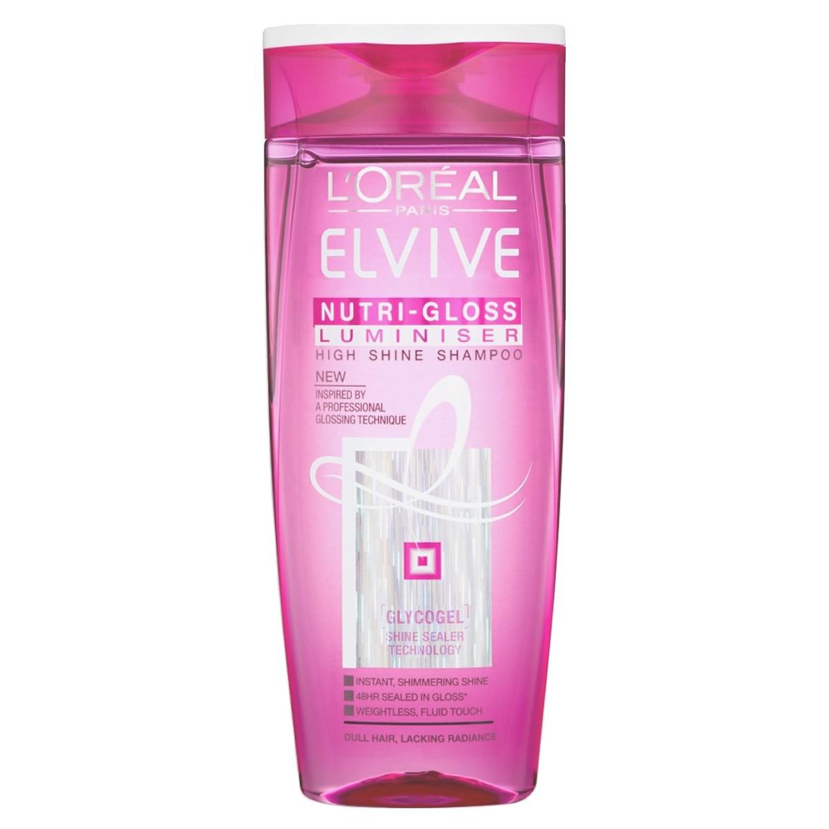 L'Oréal Paris Elvive Nutri-Gloss Luminiser High Shine Shampoo