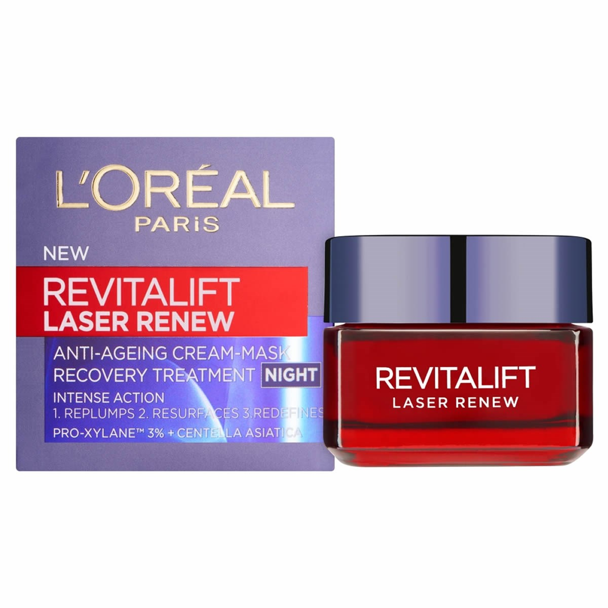 L'Oreal Paris Dermo Expertise Revitalift Laser Renew Anti-ageing Cream-Mask Night