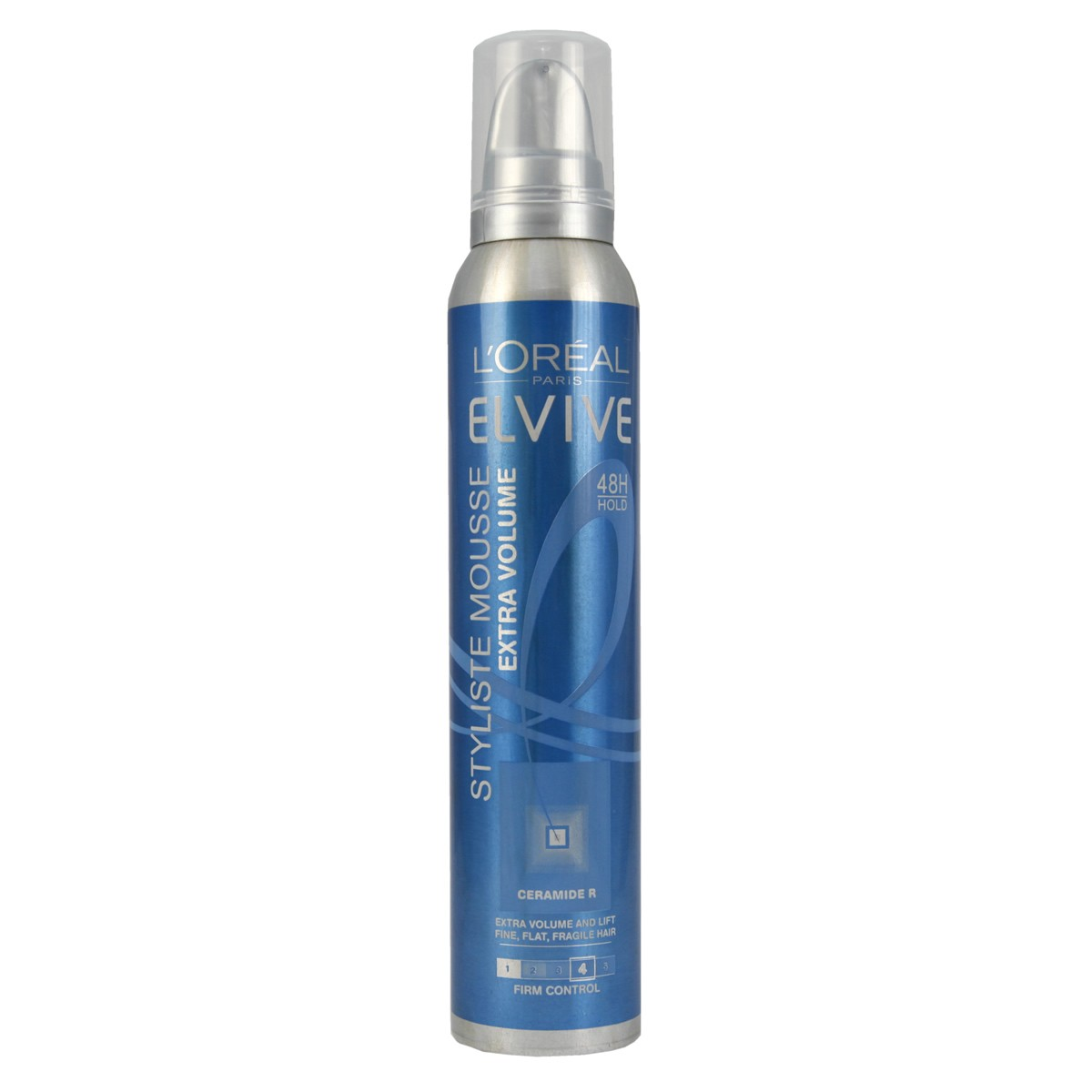 L'Oreal Paris Elvive Styliste Ceramide-R Firm Control Mousse