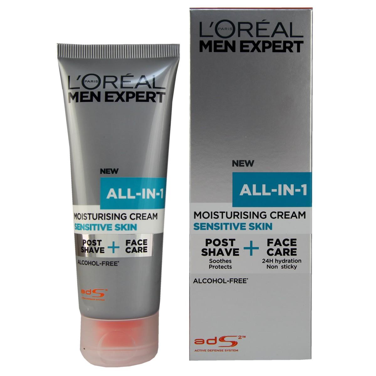 L'Oreal Paris Men Expert All-In-One Moisturising Cream - Sensitive Skin