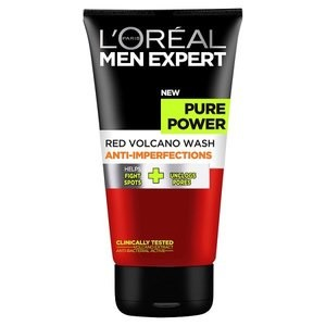 L'Oreal Paris Men Expert Pure Power Red Volcano Anti-Imperfection Wash