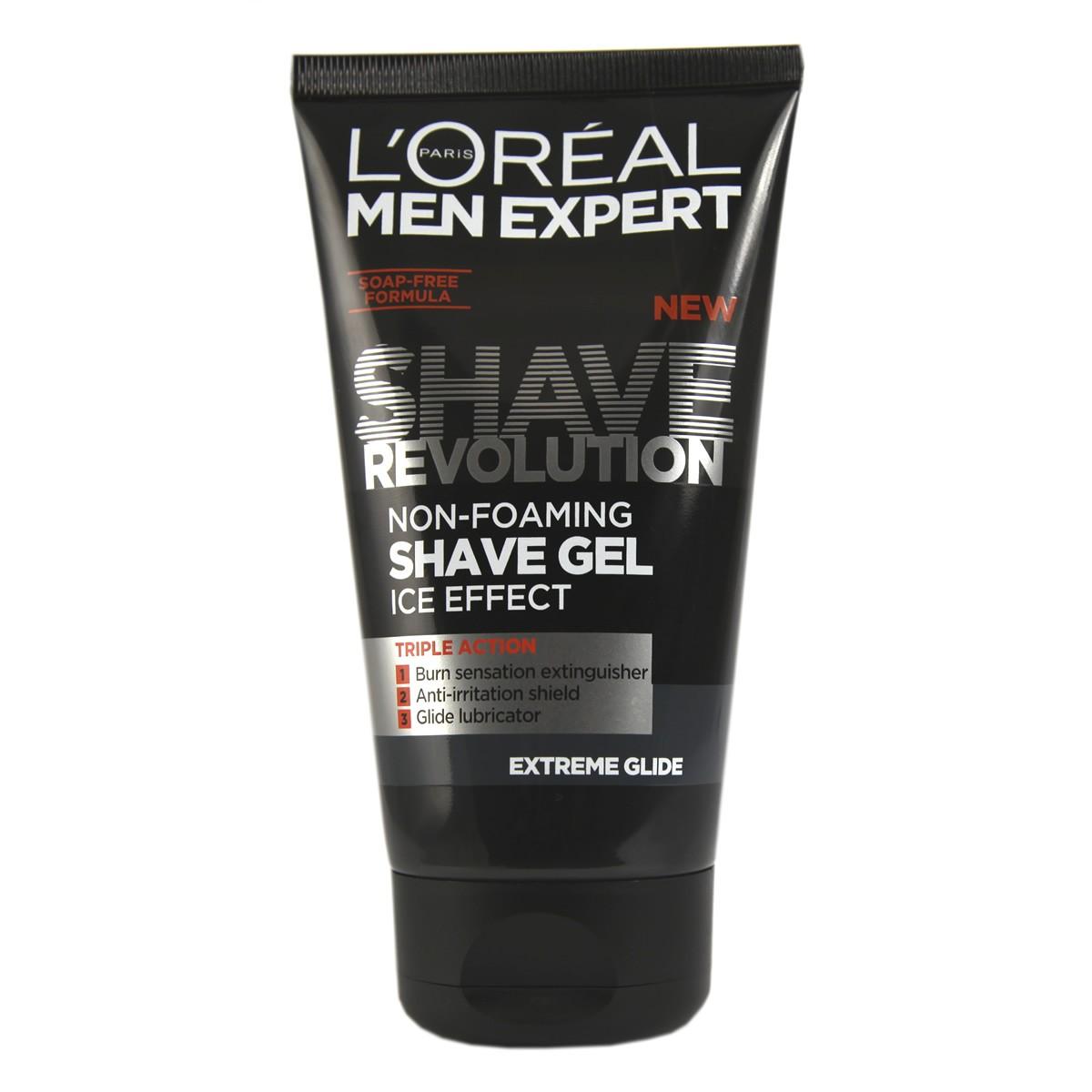 L'Oreal Paris Men Expert Shave Revolution Extreme Glide Non-Foaming Shave Gel