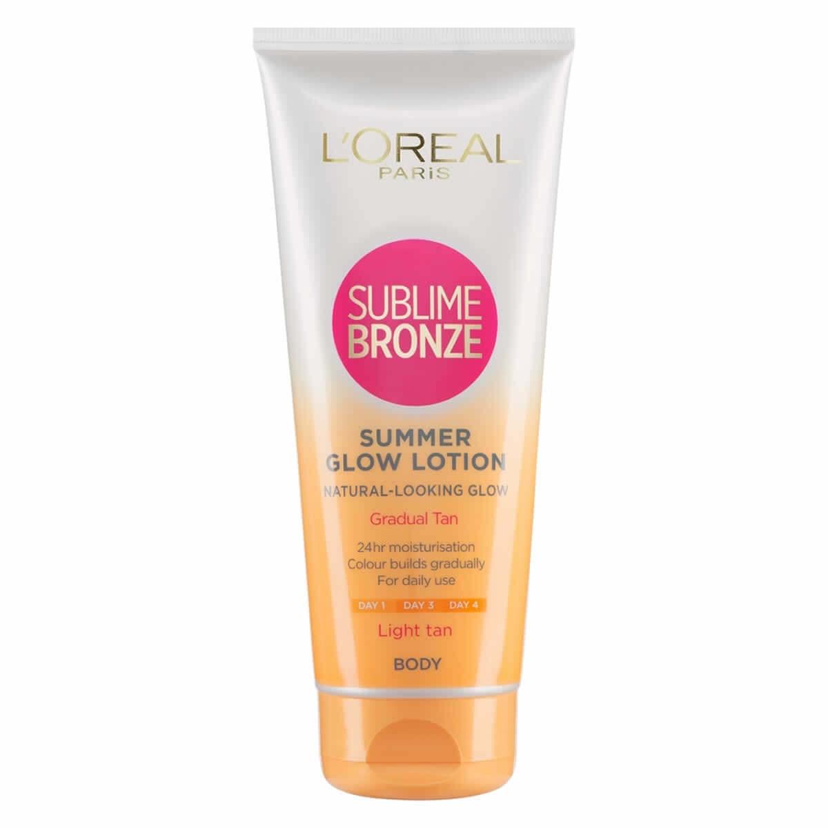 L'Oreal Paris Sublime Bronze Summer Glow Lotion - Light Tan