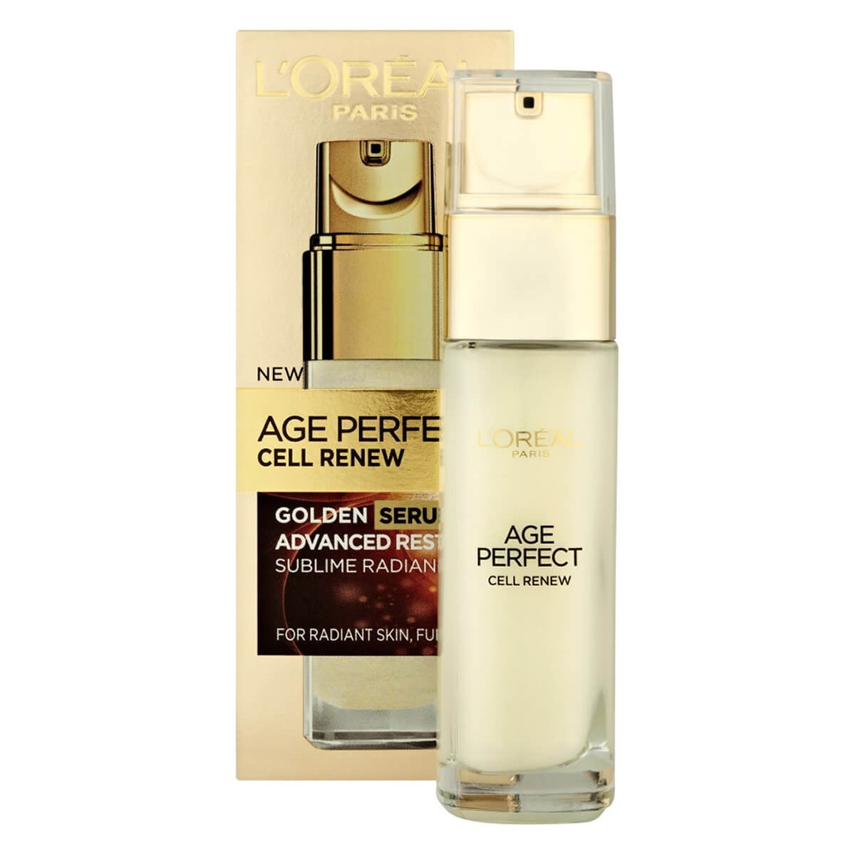 L'Oreal Paris Age Perfect Cell Renew Golden Serum Advanced Restoring