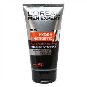 L'Oreal Paris Men Expert Hydra Energetic Daily Purifying Wash with Charcoal