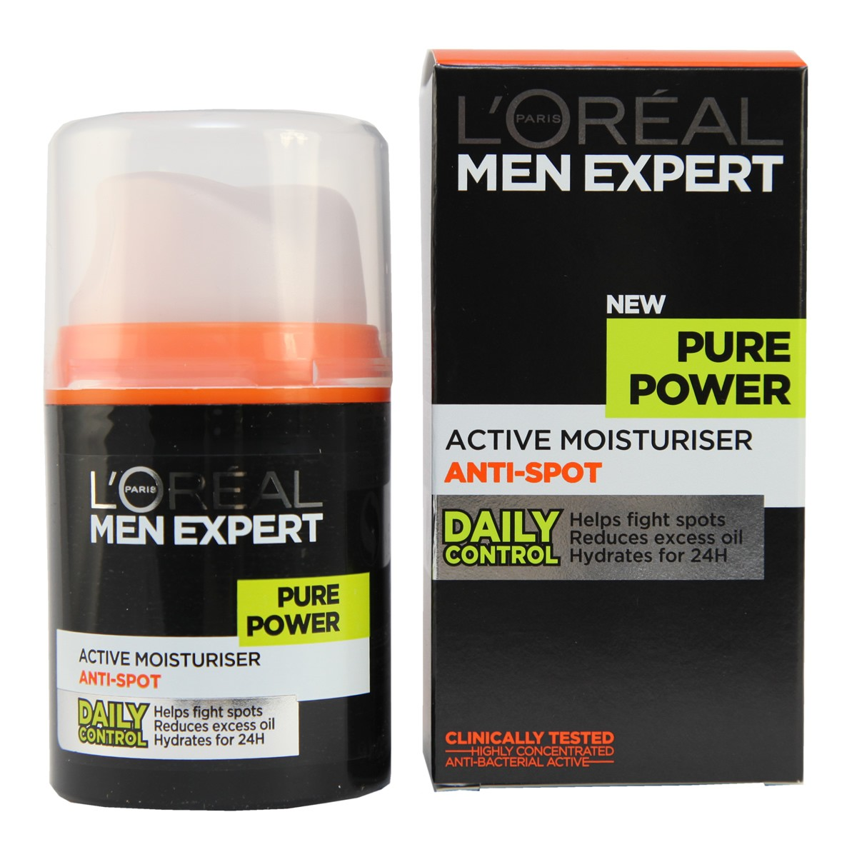 L'Oreal Paris Men Expert Pure Power Active Moisturiser Anti-Spot