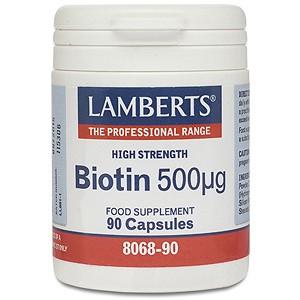 Lamberts Biotin 500µg