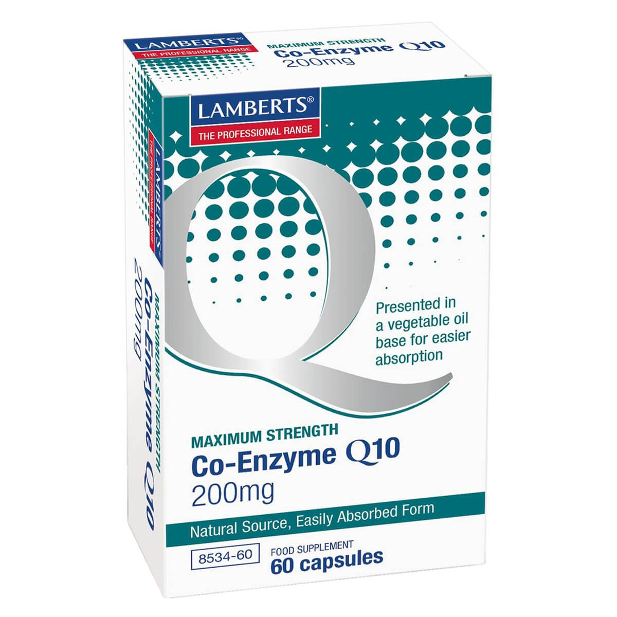 Lamberts Co-Enzyme Q10 200mg