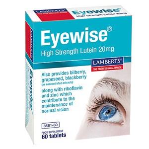 Lamberts Eyewise High Strength Lutein 20mg