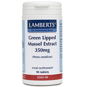 Lamberts Green Lipped Mussel Extract 350mg Tablets