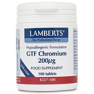 Lamberts GTF Chromium 200µg