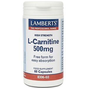 Lamberts L-Carnitine 500mg