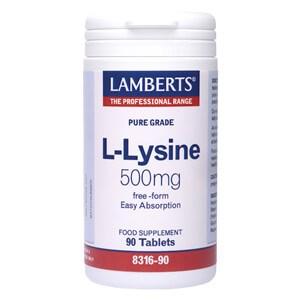Lamberts L-Lysine 500mg