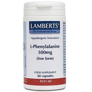 Lamberts L-Phenylalanine 500mg