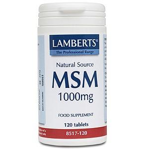 Lamberts MSM 1000mg