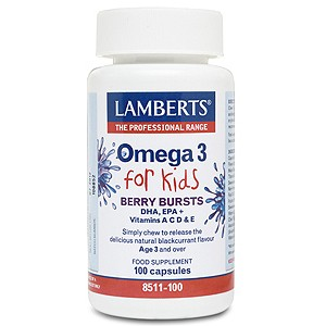 Lamberts Berry Bursts Omega 3 for Kids