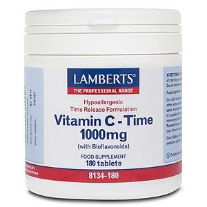 Lamberts Time Release Vitamin C 1000mg