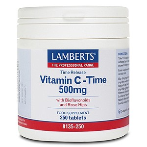 Lamberts Time Release Vitamin C 500mg