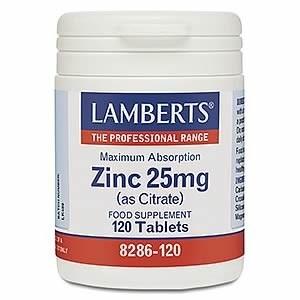 Lamberts Zinc 25mg (as Citrate)