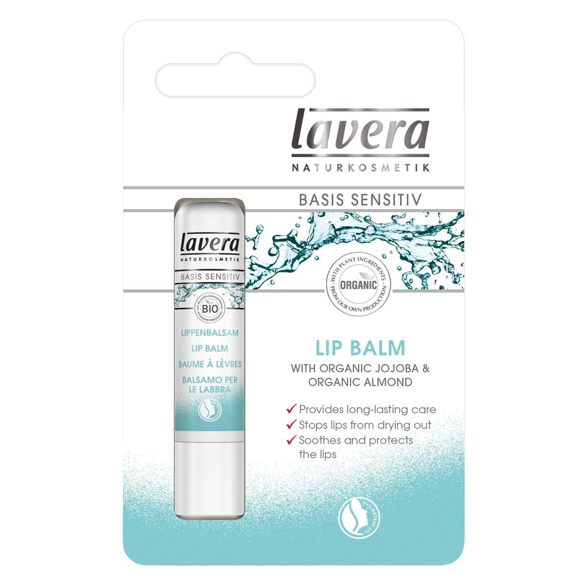 Lavera Basis Sensitiv  Organic Lip Balm