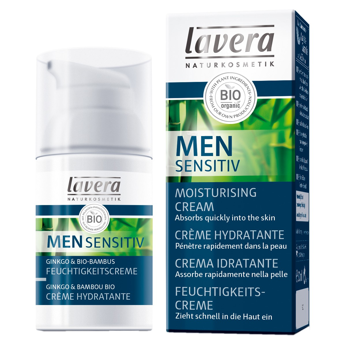 Lavera Men Sensitiv Organic Moisturising Face Cream