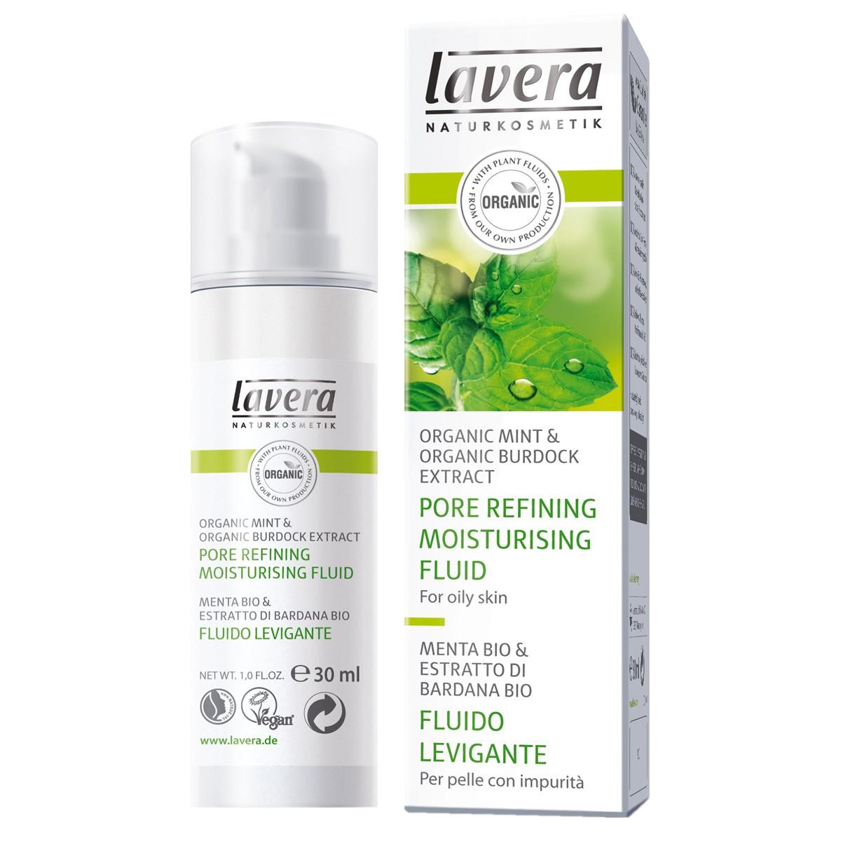 Lavera Mint Organic Pore Refining Moisturising Fluid