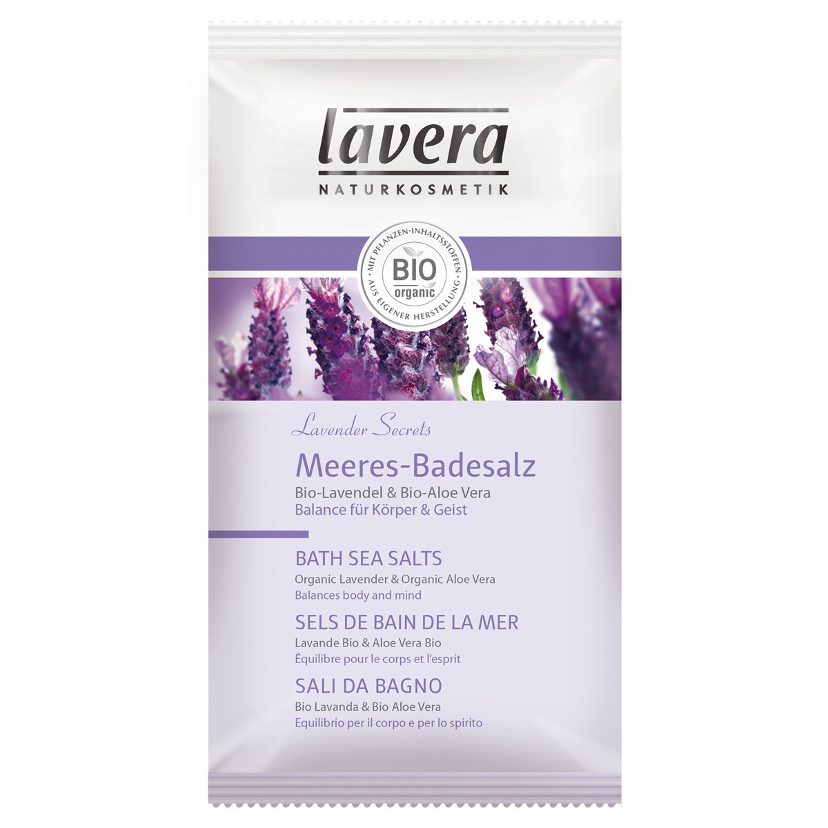 Lavera Organic Lavender Secrets Bath Sea Salts