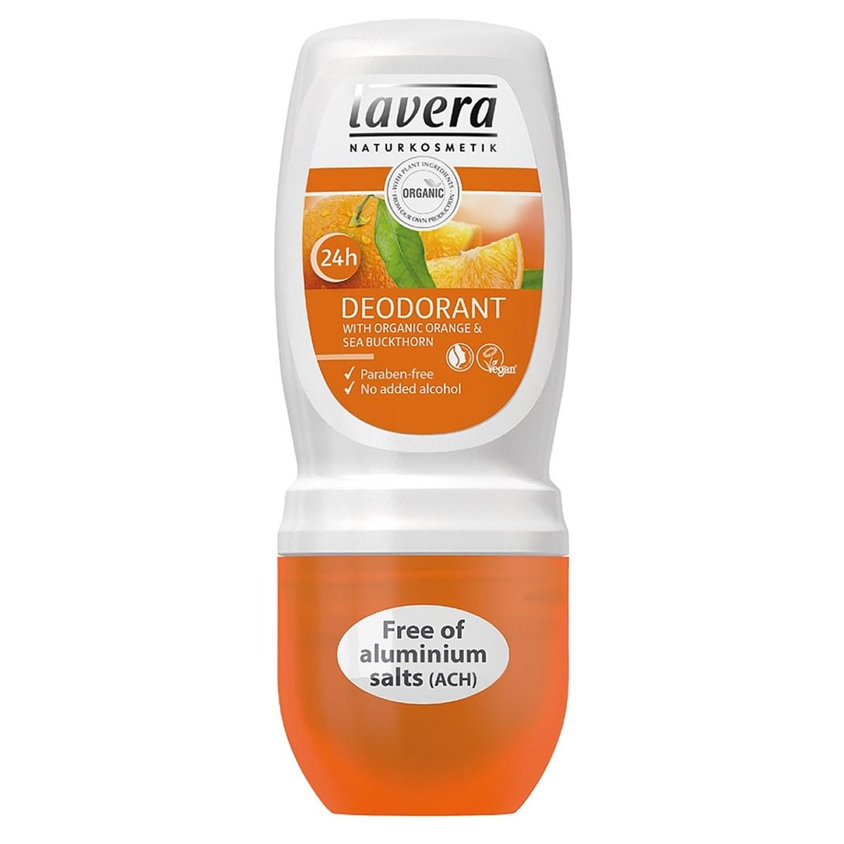 Lavera Organic 24h Deodorant Roll-On - Orange & Sea Buckthorn