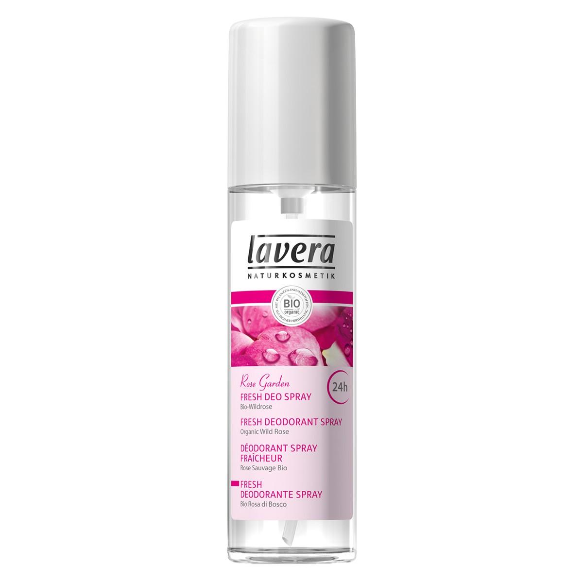 Lavera Organic Rose Garden Deodorant Spray
