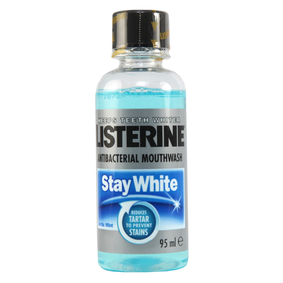 Listerine Stay White Anti-Bacterial Mouthwash - Arctic Mint (Travel Size)