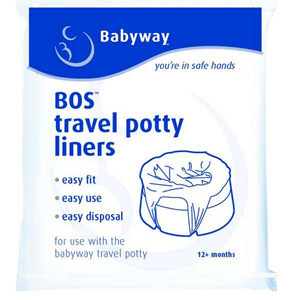 Little Wonders Babyway Travel Potty Liners