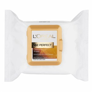 L'Oreal Paris Age Perfect Smoothing Wipes - Mature Skin