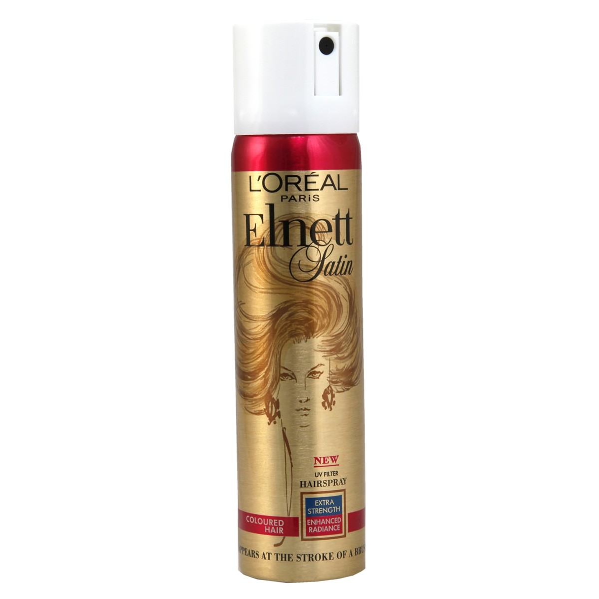L'Oreal Paris Elnett Satin UV Filter Hairspray for Coloured Hair