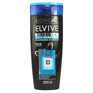 L'Oreal Paris Elvive For Men Anti-Dandruff  Nourishing Shampoo
