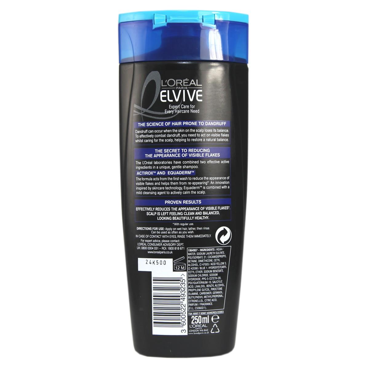 L'Oreal Paris Elvive For Men Anti-Dandruff  Nourishing Shampoo