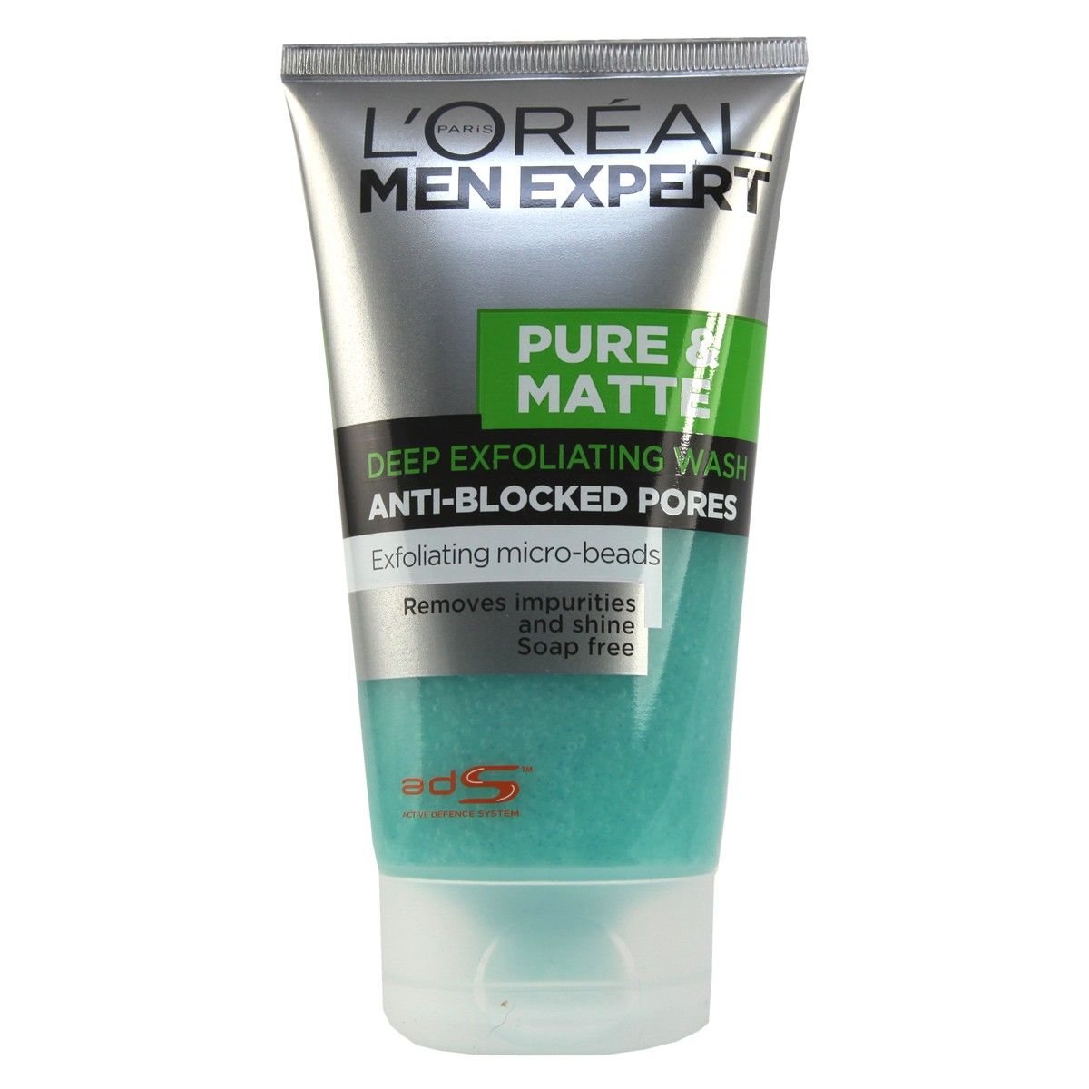L'Oreal Paris Men Expert Pure & Matte Deep Exfoliating Wash