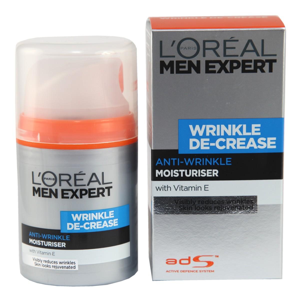 L'Oreal Paris Men Expert Wrinkle De-Crease Moisturiser