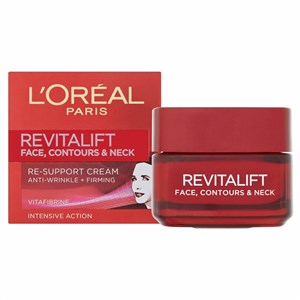 L'Oreal Paris Revitalift Face, Contours And Neck Re-Support Cream