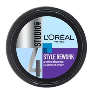 L'Oreal Paris Studio Line Style Rework Architect Shine Wax