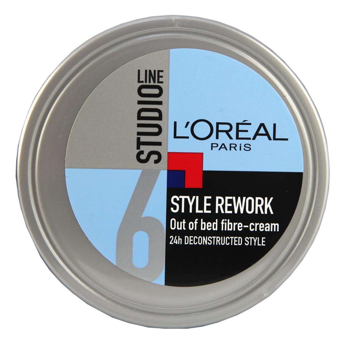L'Oreal Paris Studio Line Style Rework Out of Bed Fibre Cream