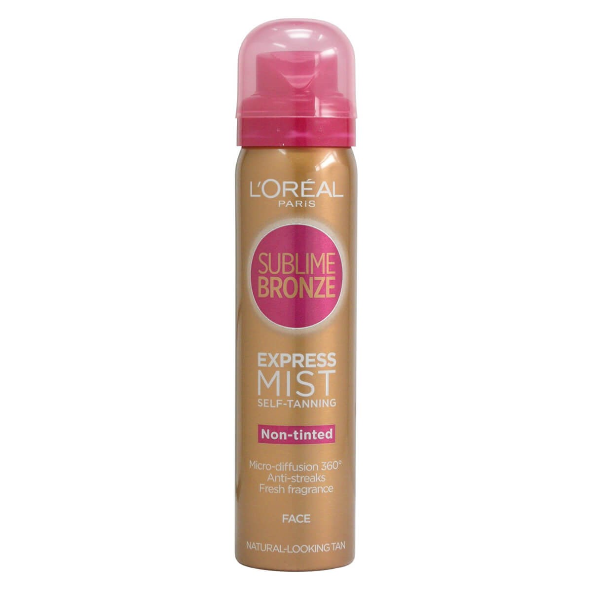 L'Oreal Paris Sublime Bronze Express Mist Self-Tanning For Face Non-tinted