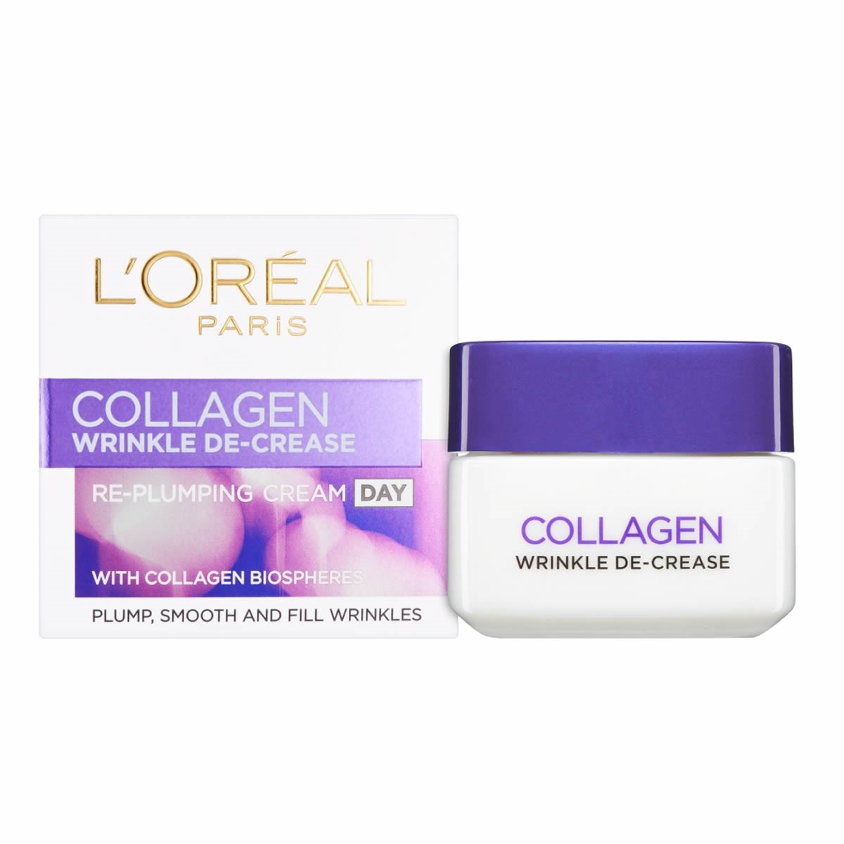 L'Oreal Paris Wrinkle De-Crease Collagen Re-Plumping Day Cream