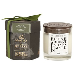 Magma London The Grasse Collection Natural Candle - Fresh Green Tea