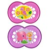 MAM Crystal Soother 2 Pack (6+ months)