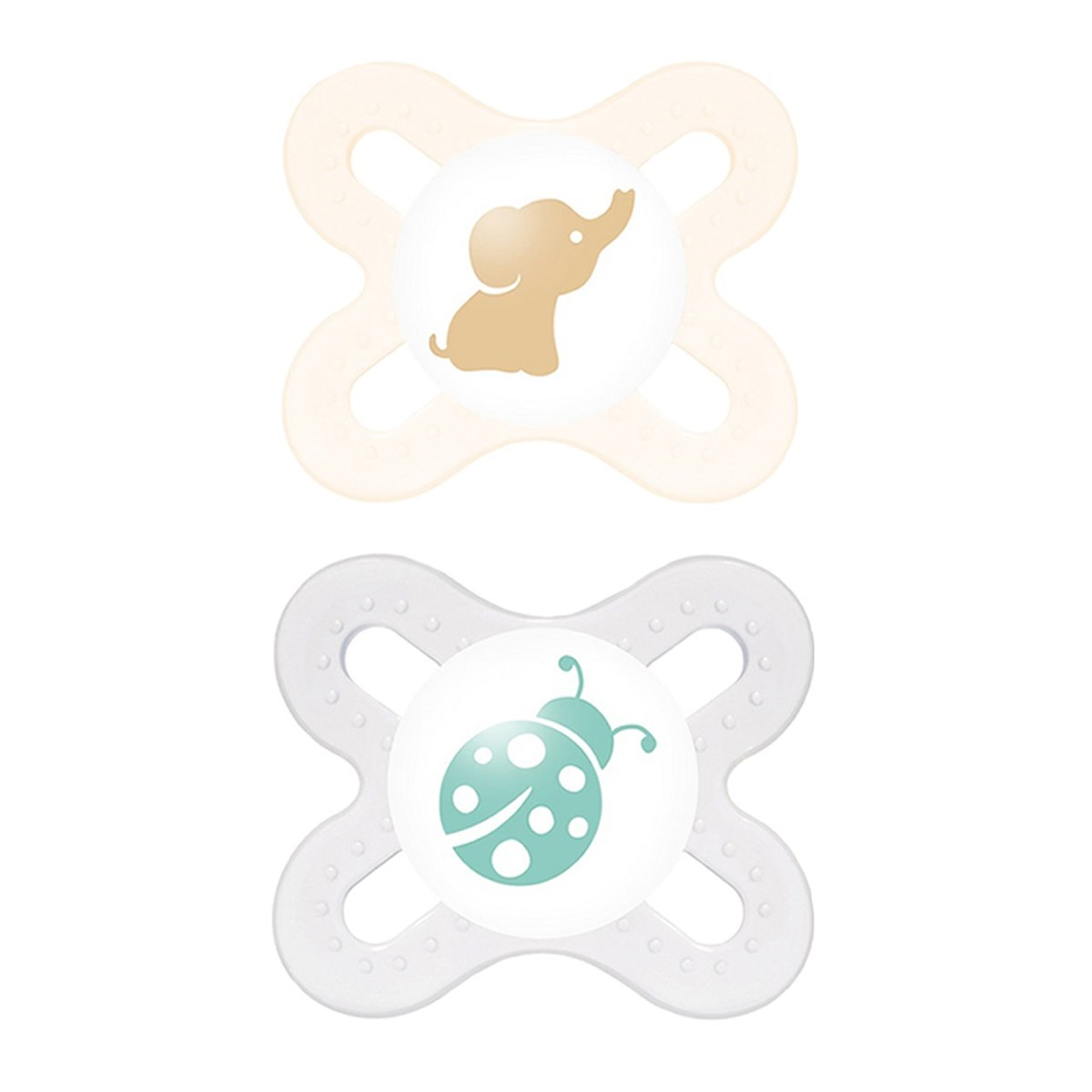 MAM Start Soother Twin Pack (0-2 months)