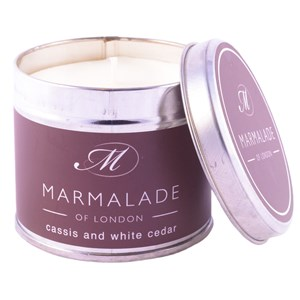 Marmalade of London Cassis & White Cedar Candle