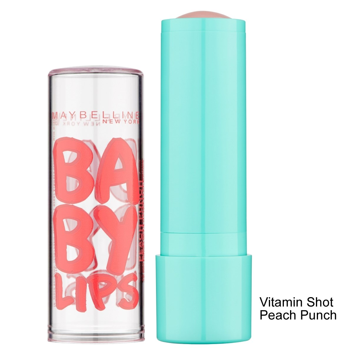Maybelline Baby Lips Vitamin Shot Peach Punch